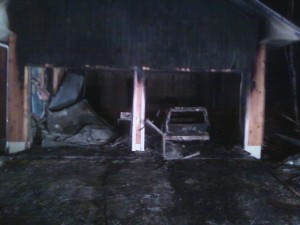 Structure Fire - Day After